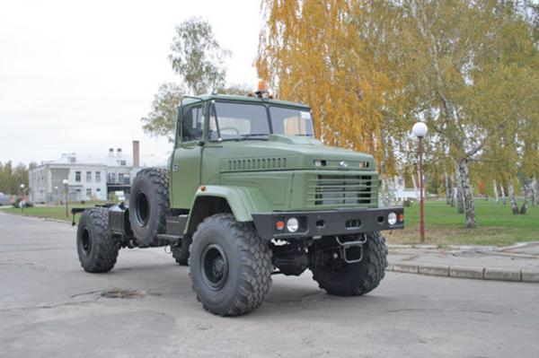 КрАЗ-5233 стал праворульным