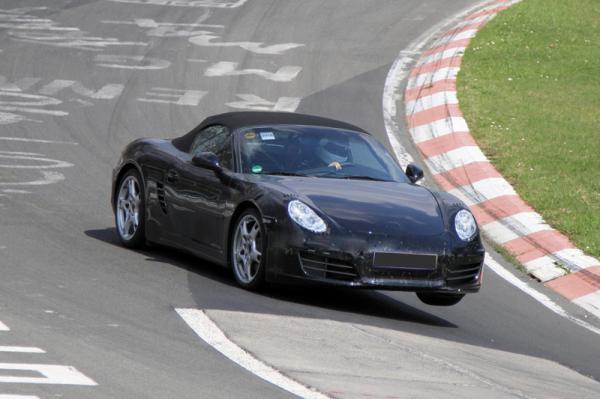 Новый Porsche Boxster покажут в 2011 году