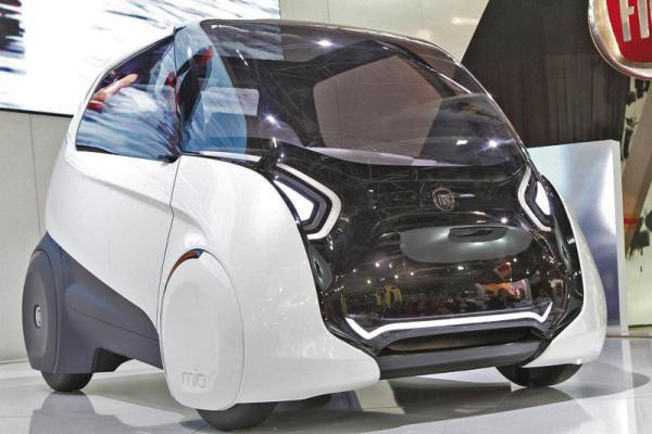 Fiat Mio FCC III Concept – автомобиль по результатам опроса