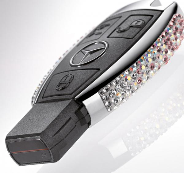 Swarovski украсил ключи Mercedes кристаллами