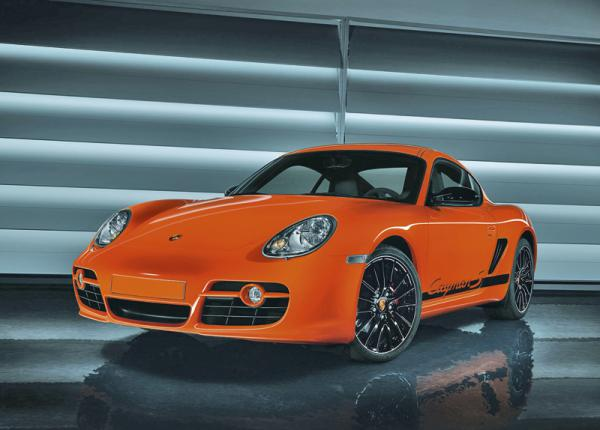"""""""Финальный"""" Porsche Cayman Clubsport"""
