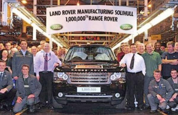 Миллионный Range Rover Autobiography Black