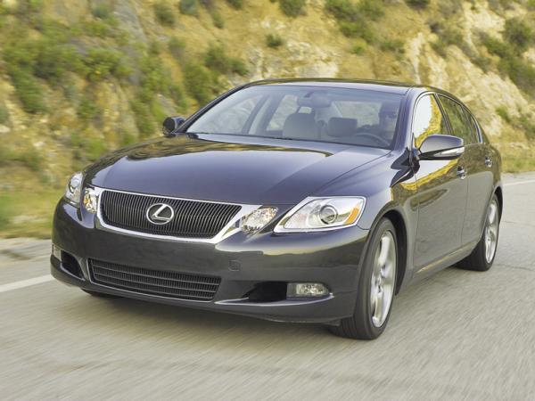 Lexus GS: обновленный