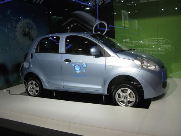 Компания Chery представила серийный электрокар Riich M1 EV