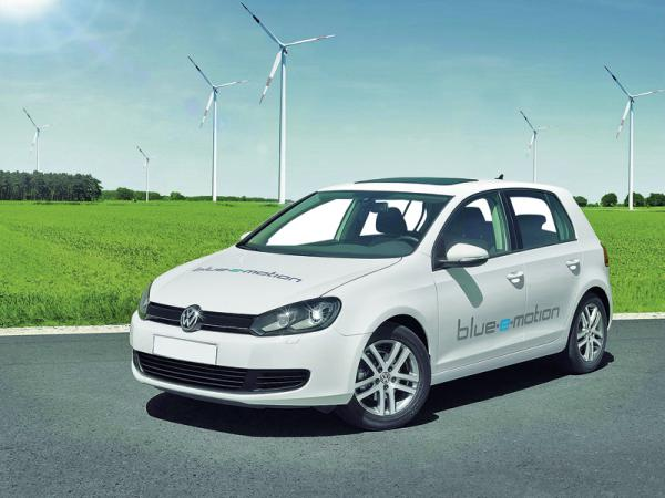 Volkswagen Golf blue-e-motion: электромобиль, готовящийся стать серийным