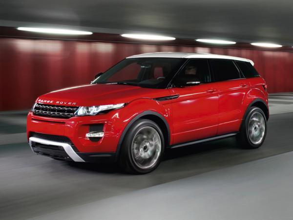 Land Rover представил пятидверный Range Rover Evoque