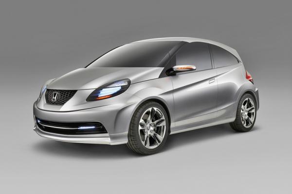 Honda готовит супермини Small Vehicle Prototype