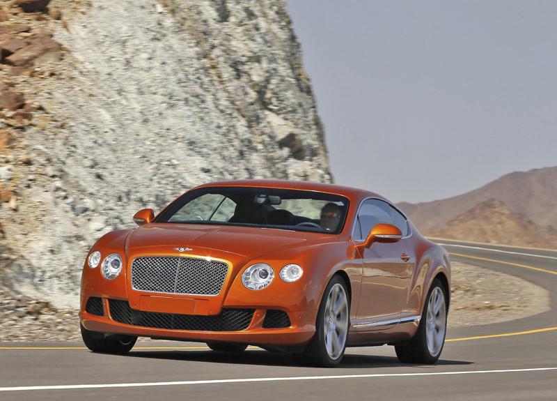 Bentley Continental GT: новый старый знакомый