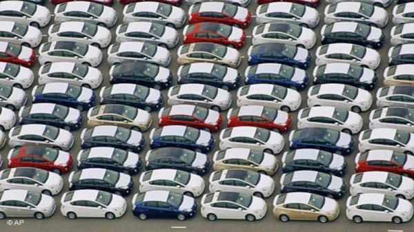 Германия занимает первое место по количеству продаж автомобилей