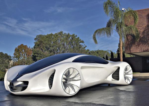"""Mercedes-Benz Biome – """"выращенный"""" автомобиль"""