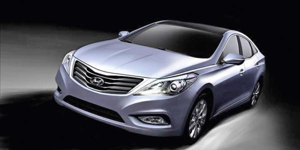 Первые изображения нового Hyundai Grandeur