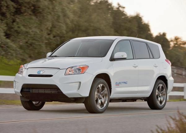 Toyota RAV4 превратили в электромобиль