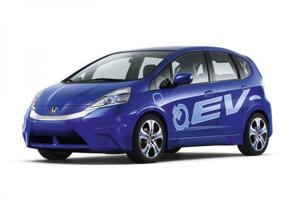 Электрический Honda Fit EV