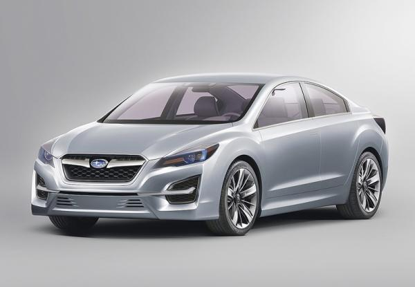 Subaru Impreza Concept: предвестник будущего седана