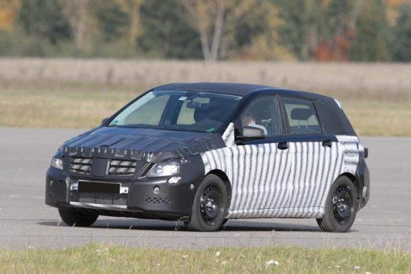Новый Mercedes-Benz B-Class покажут в 2011 году