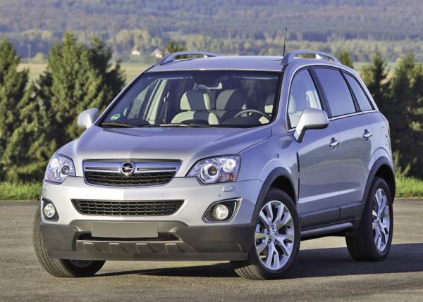 Opel Antara обновили