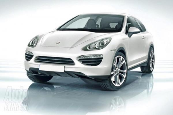 Porsche Cajun появится в 2014 году