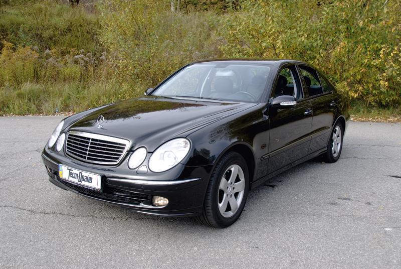 Mercedes-Benz E-класс (2002-2009 г. в.): звезда с пробегом