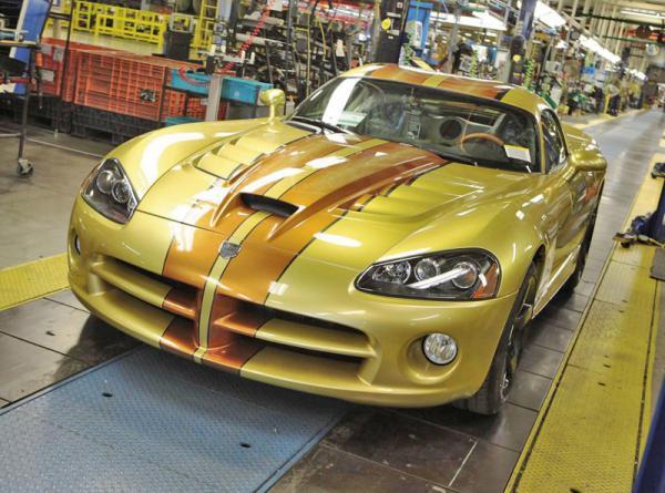 В Dodge готовят новый Viper