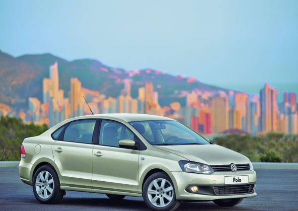 Volkswagen Polo Sedan в Украине появится в феврале