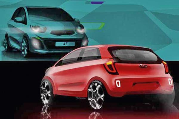 Kia подготовила новое поколение Picanto