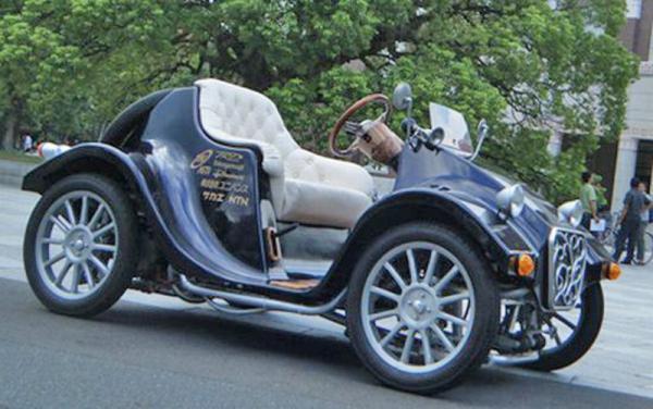 Takayanagi Miluira: электромобиль в стиле ретро