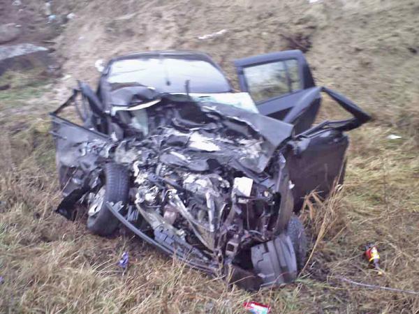 В Киевской области в результате столкновения двух авто погиб один человек и еще четверо получили травмы