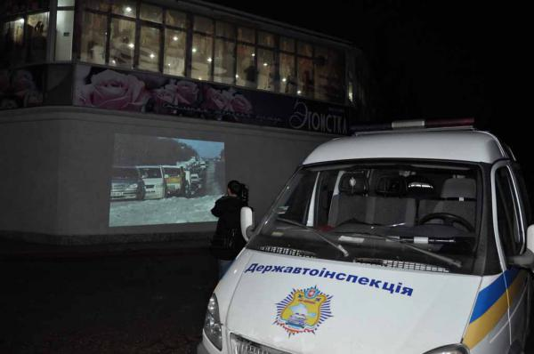 Дорогами Крыма путешествует агитационный автобус ГАИ